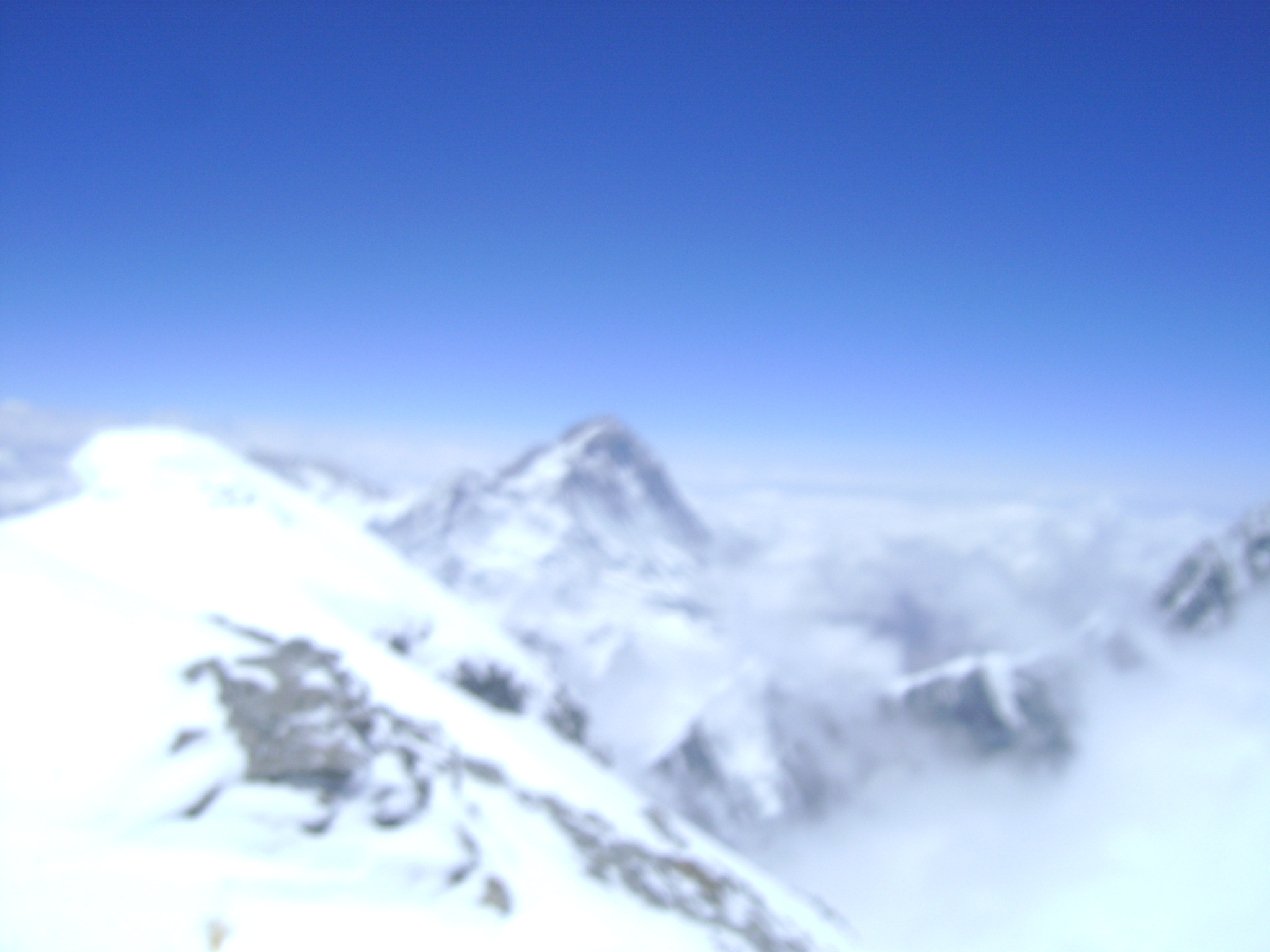 View from Everest  summit