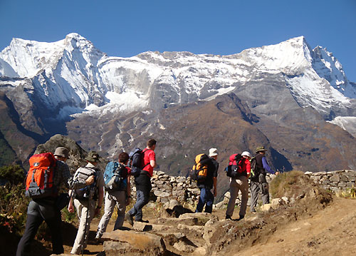 trekking and travel in Nepal